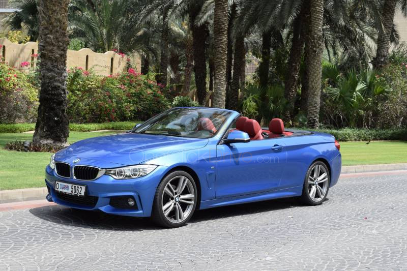 Rent BMW 420i Convertible in Dubai - Sports Car Car Rental