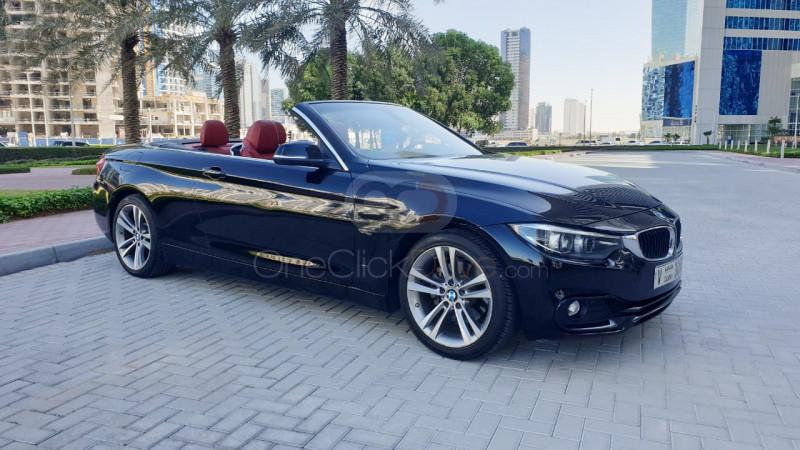 Rent BMW 430i Convertible in Dubai - Convertible Car Rental