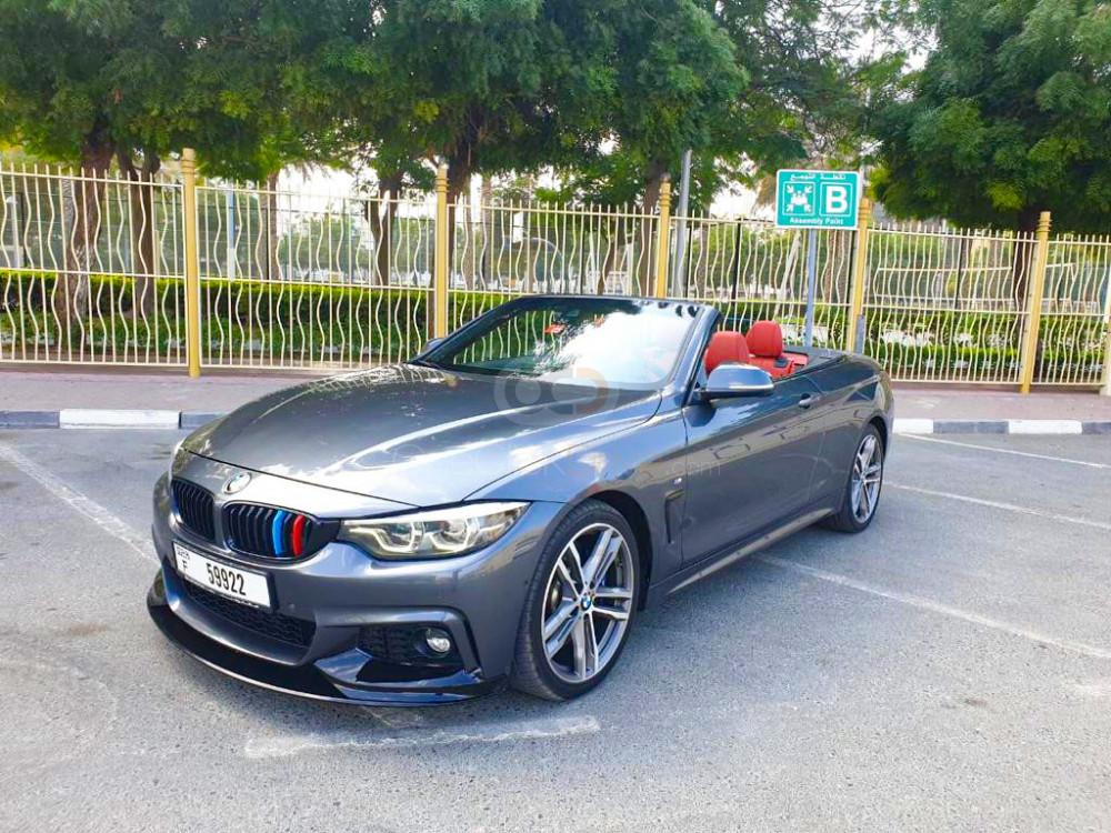 Rent BMW 430i Convertible M-Kit in Dubai - Sports Car Car Rental