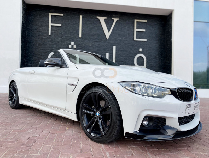 Hire BMW 430i Convertible M Sport Package - Sports Car Dubai