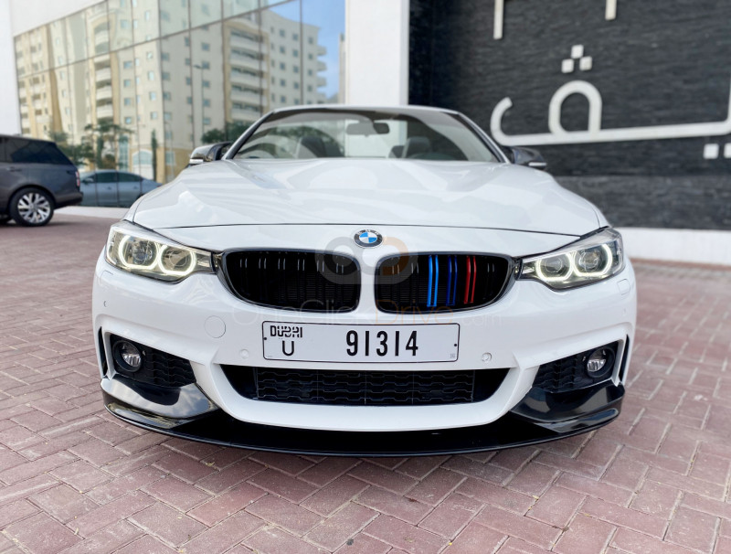 BMW 430i Convertible M Sport Package 2018 Rental - Dubai