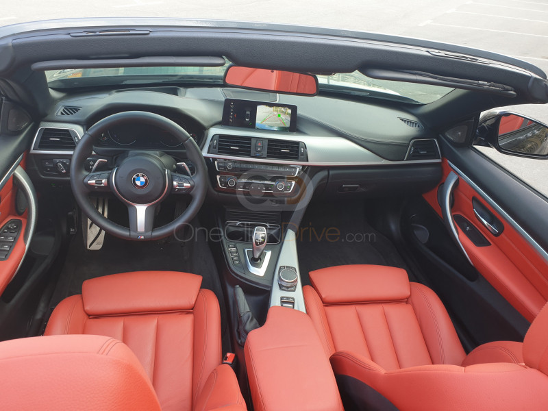 Rent 2020 BMW 430i Convertible M Sport Package in Dubai UAE