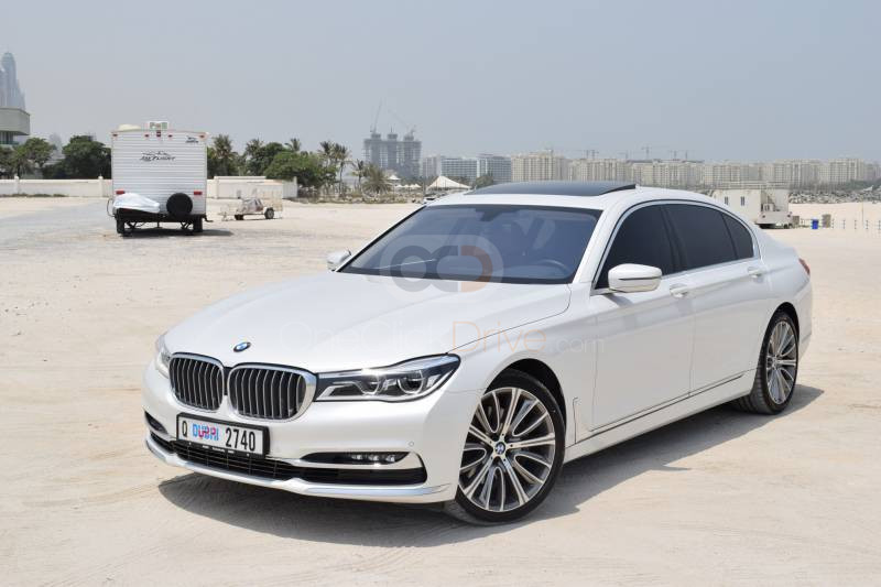 Rent BMW 740Li in Dubai - Sedan Car Rental