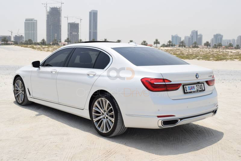 BMW 740Li 2017 Rental - Dubai