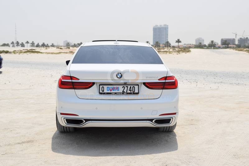 Book BMW 740Li 2017 in Dubai