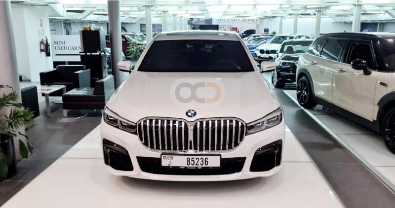Rent 2021 BMW 730-li in Dubai UAE