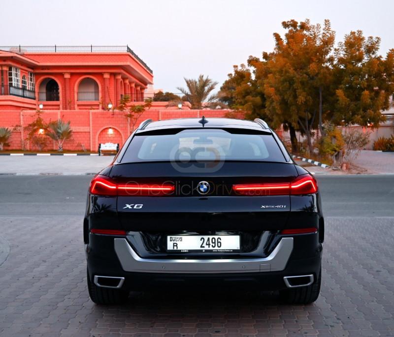 Rent BMW X6 SUV 2021 car in Dubai: Day, week, monthly rental