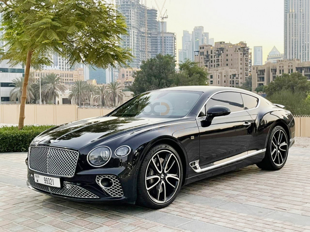 Rent 2019 Bentley Continental GT in Dubai UAE