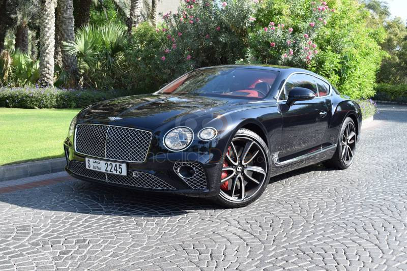 Rent Bentley Continental GT in Dubai - Luxury Car Car Rental