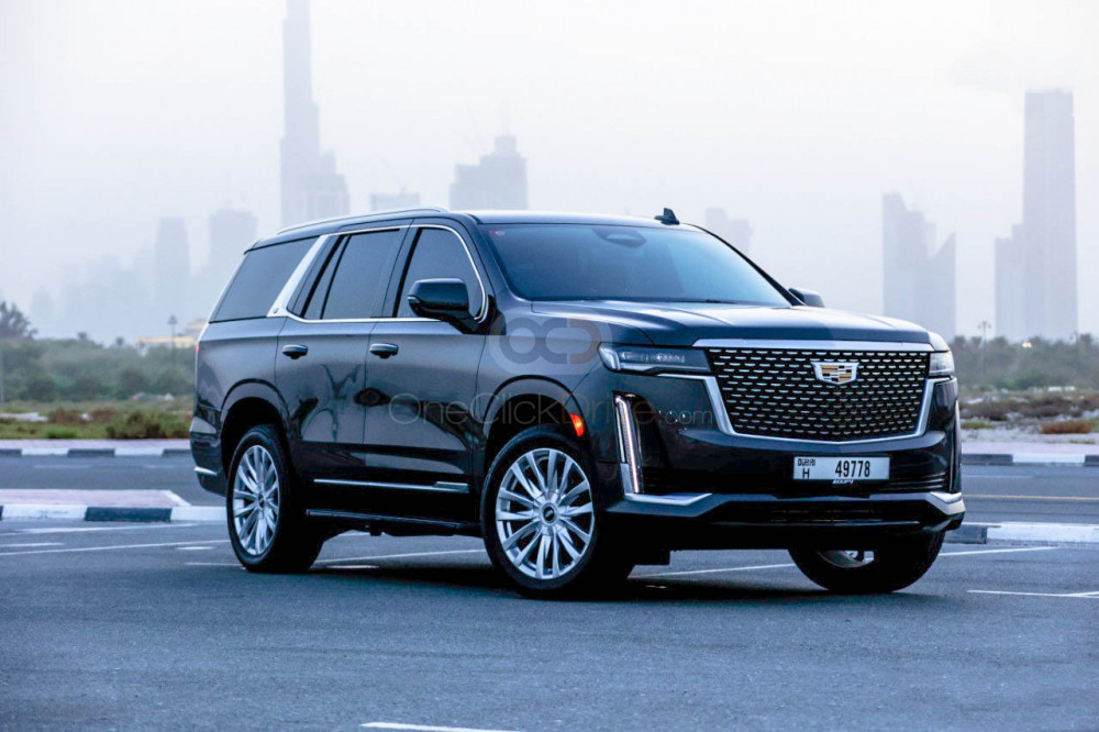 Rent Cadillac Escalade in Dubai - SUV Car Rental