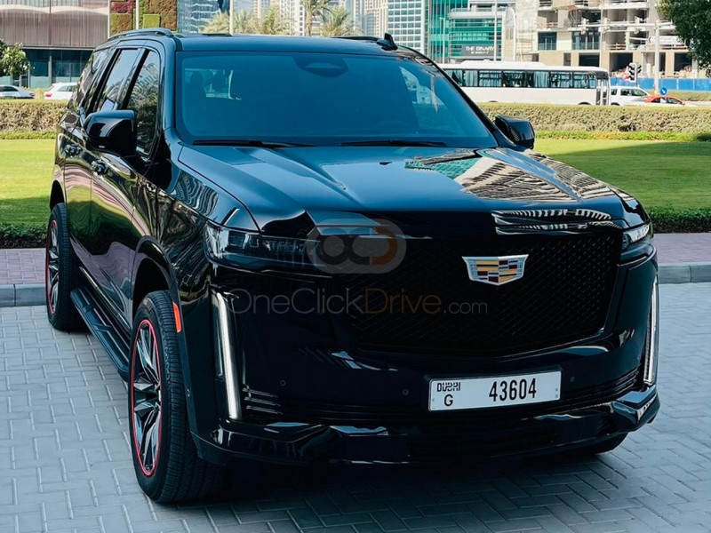 Rent Cadillac Escalade Sport in Dubai - SUV Car Rental