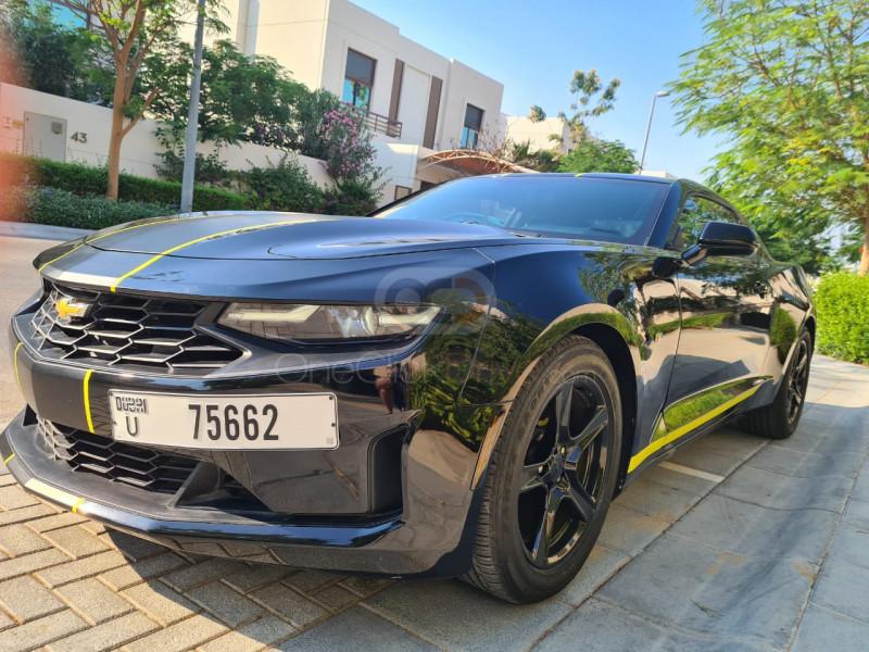 Rent Chevrolet Camaro Coup V6 in Dubai - Sports Car Car Rental