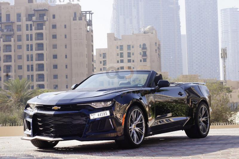 Rent Chevrolet Camaro Convertible RS V6 in Dubai - Sports Car Car Rental