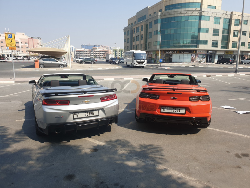 Rent 2019 Chevrolet Camaro SS V8 Convertible in Dubai UAE