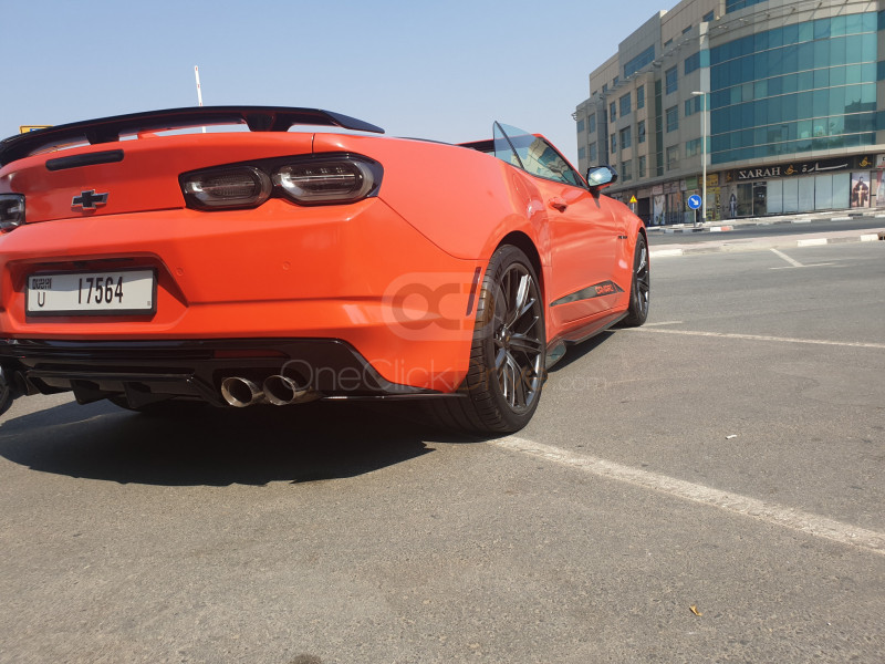 Book Chevrolet Camaro SS V8 Convertible 2019 in Dubai