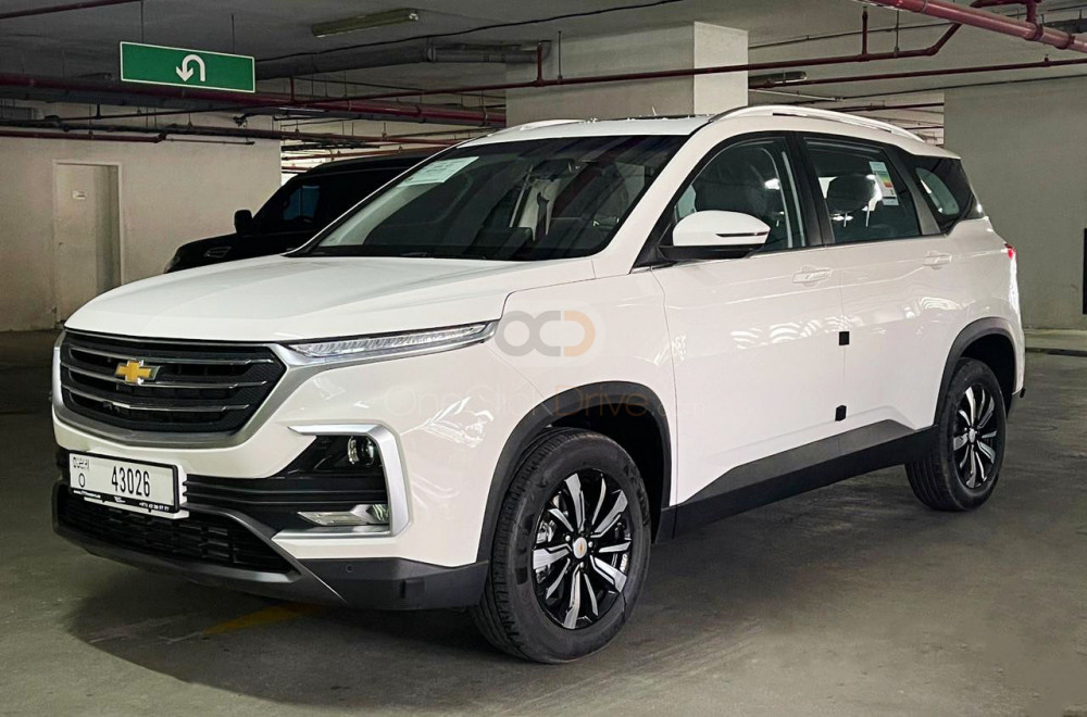 Rent Chevrolet Captiva in Dubai - Crossover Car Rental