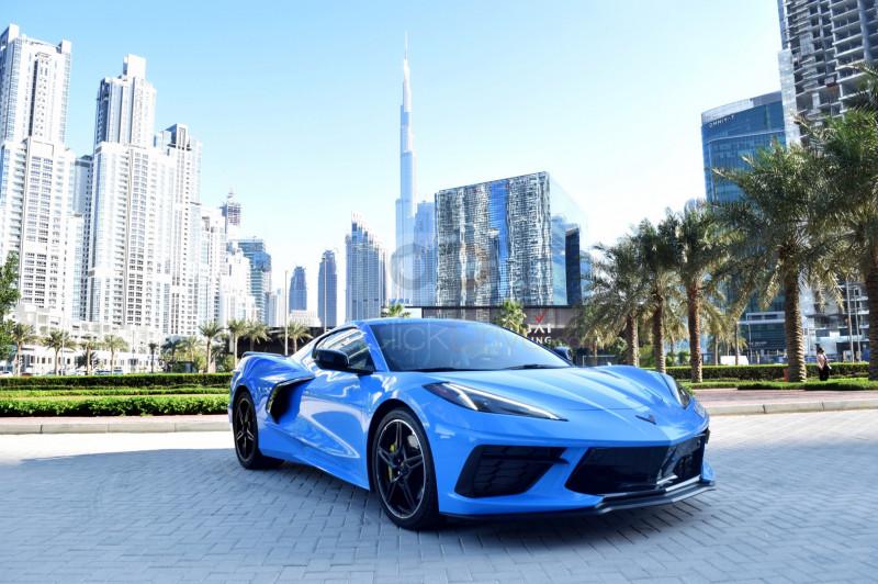 Hire Chevrolet Corvette - Sports Car Dubai