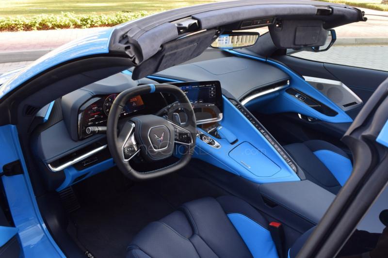 Rent 2020 Chevrolet Corvette in Dubai UAE