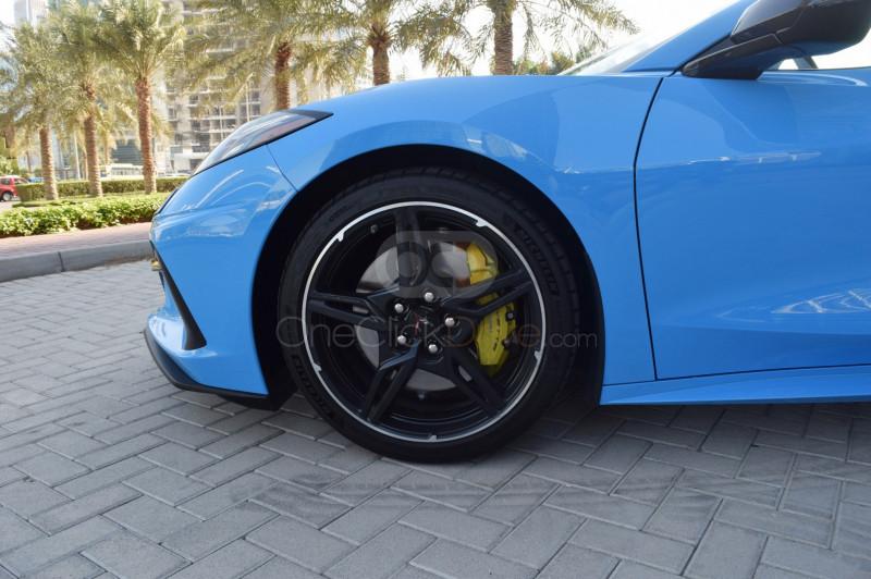 Book Chevrolet Corvette 2020 in Dubai