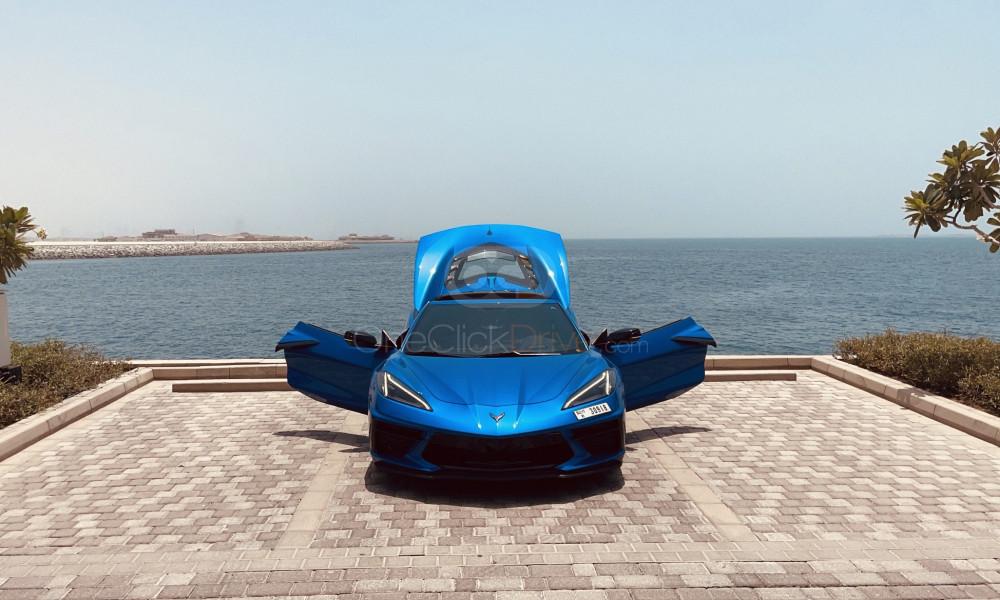 Rent Chevrolet Corvette C8 Grand Sport in Dubai - Sports Car Car Rental