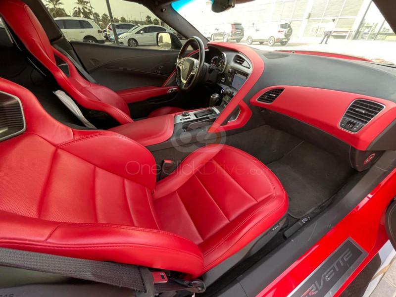 Rent 2018 Chevrolet Corvette Grand Sport in Dubai UAE