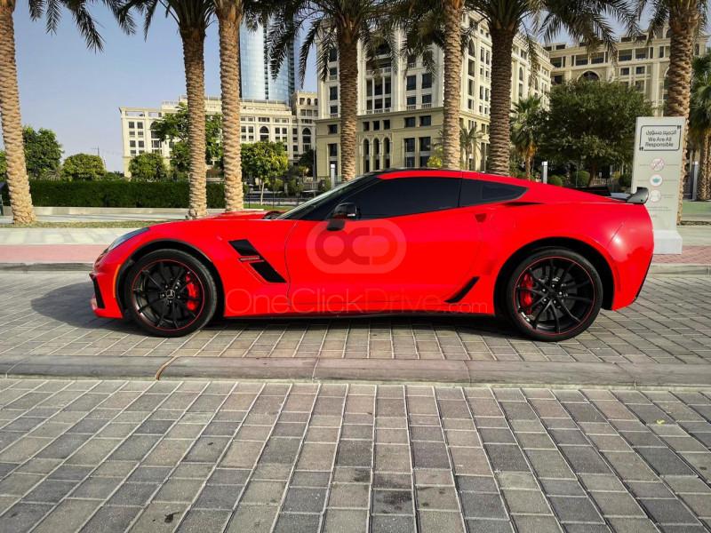 Hire Chevrolet Corvette Grand Sport - Convertible Dubai