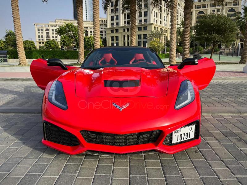 Book Chevrolet Corvette Grand Sport 2018 in Dubai