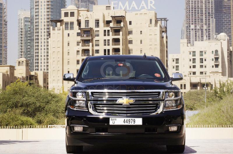 Rent Chevrolet Suburban in Dubai - SUV Car Rental