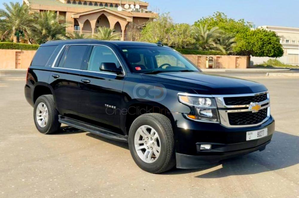 Rent Chevrolet Tahoe in Dubai - SUV Car Rental