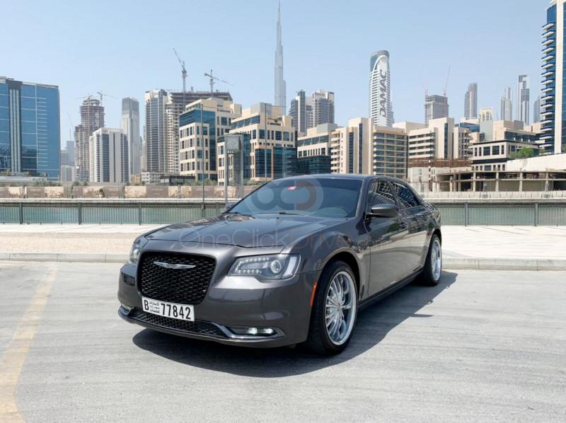 Rent Chrysler 300C in Sharjah - Sedan Car Rental