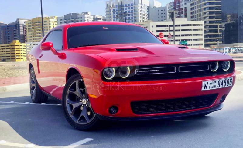 Rent Dodge Challenger in Dubai - Sports Car Car Rental