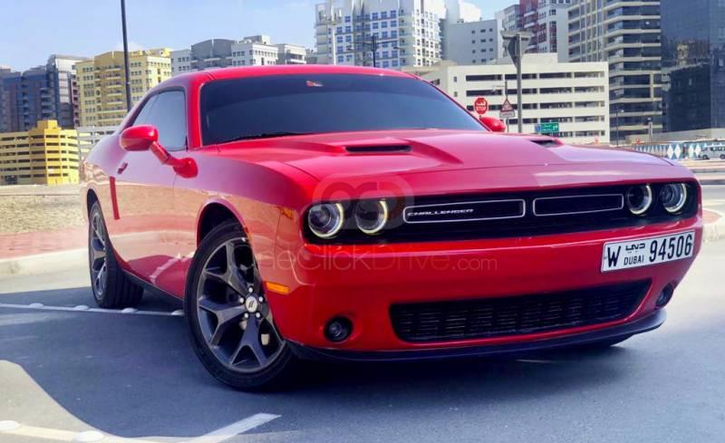 Rent Dodge Challenger in Dubai - Muscle Car Rental