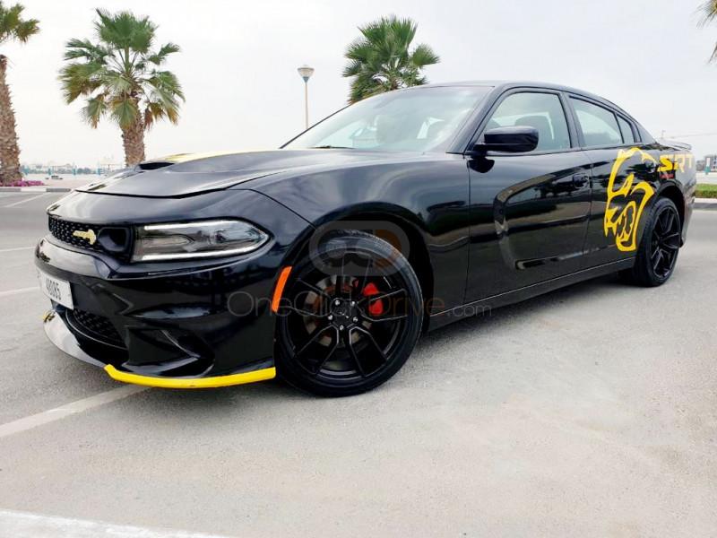 Rent Dodge Charger SRT V8 in Dubai - Muscle Car Rental