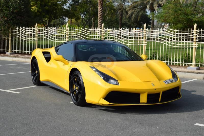 Rent Ferrari 488 GTB in Dubai - Sports Car Car Rental