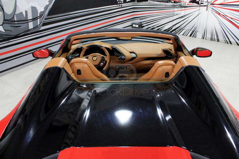 Rent 2017 Ferrari 488 Spider in Dubai UAE