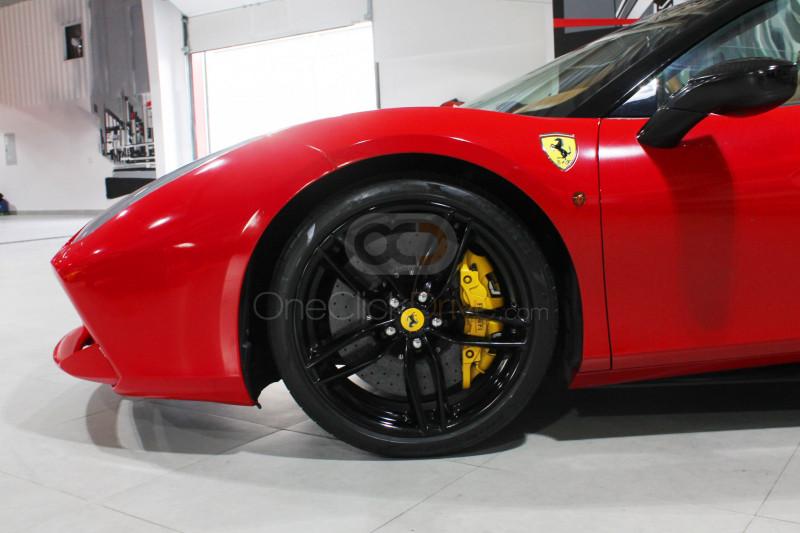 Book Ferrari 488 Spider 2017 in Dubai
