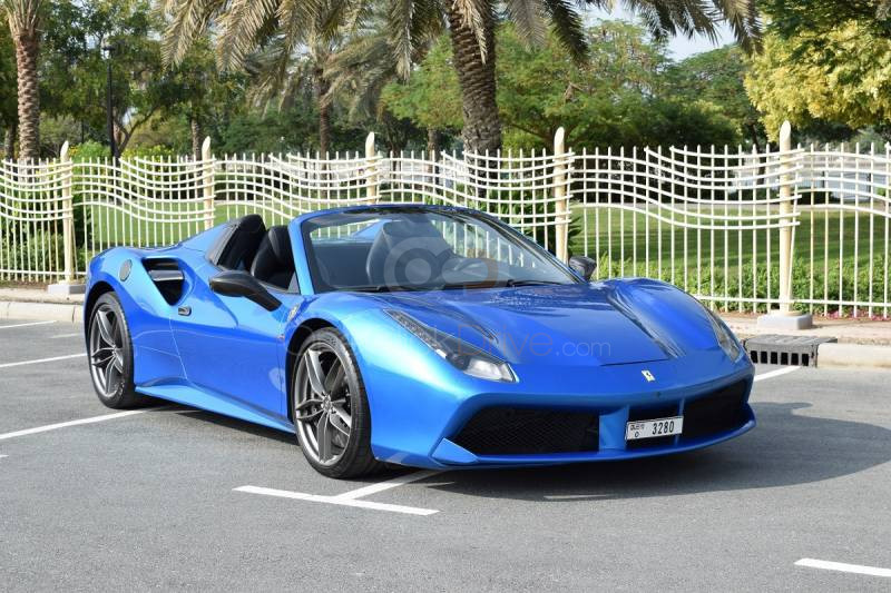 Rent Ferrari 488 Spider in Sharjah - Sports Car Car Rental