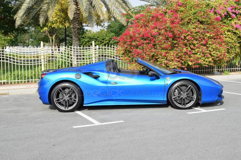 Hire Ferrari 488 Spider - Sports Car Sharjah