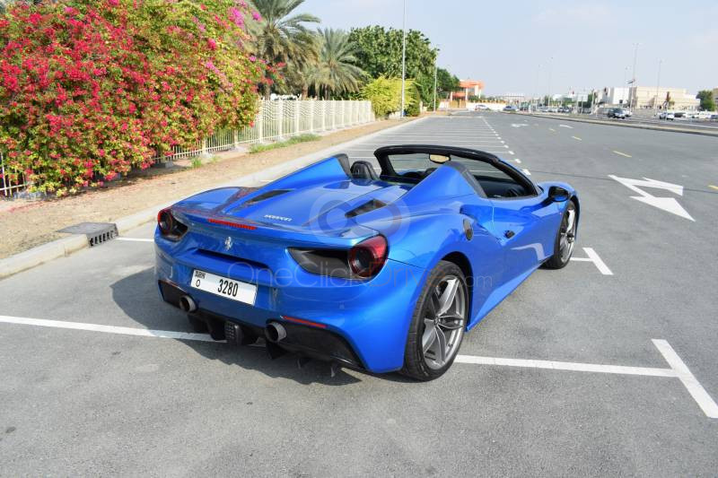 Book Ferrari 488 Spider 2017 in Sharjah