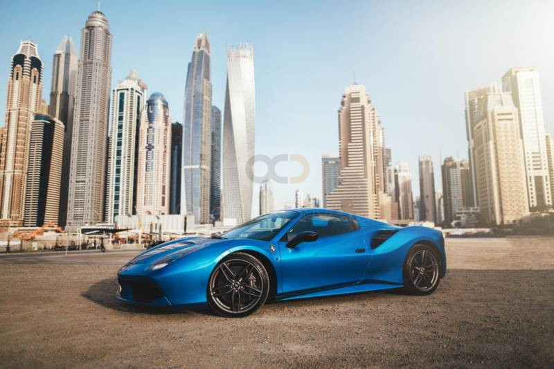 Ferrari 488 Spider 2017 Rental - Sharjah