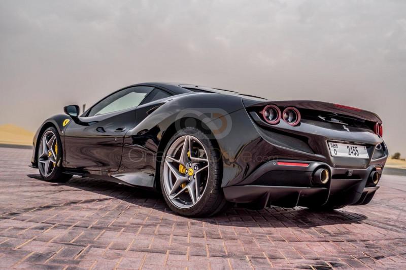 Book Ferrari F8 Tributo 2020 in Dubai