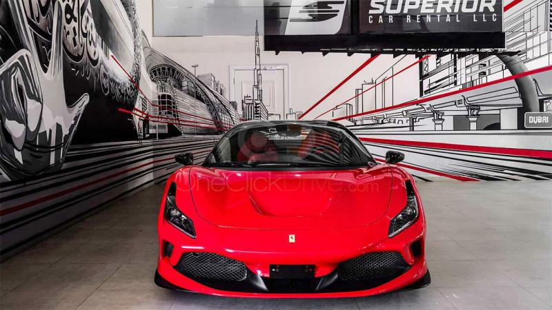 Ferrari F8 Tributo Spider 2021 Rental - Dubai