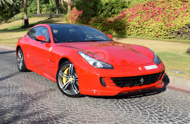 Rent Ferrari GTC4 Lusso V12 in Dubai - Sports Car Car Rental