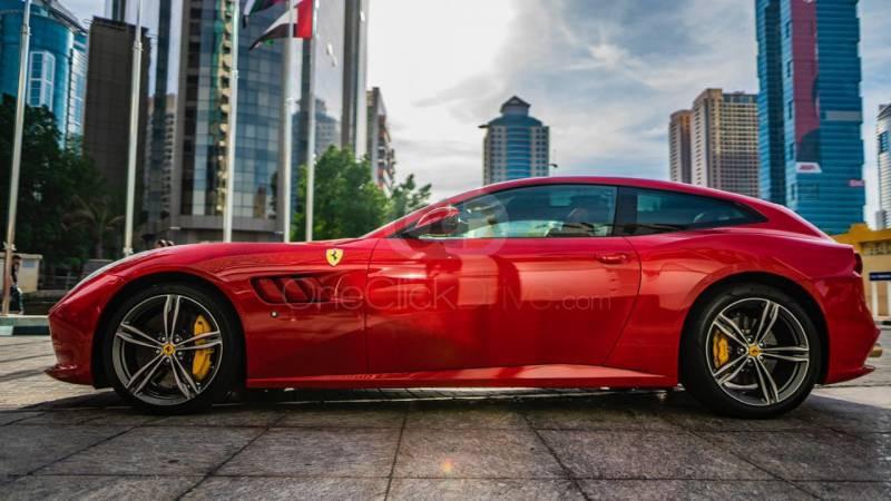 Rent 2018 Ferrari GTC4 Lusso V12 in Dubai UAE