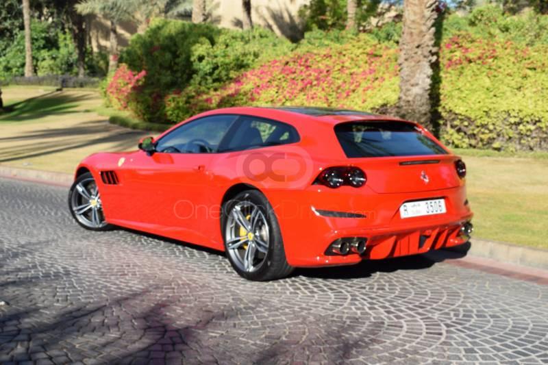 Ferrari GTC4 Lusso V12 2018 Rental - Dubai