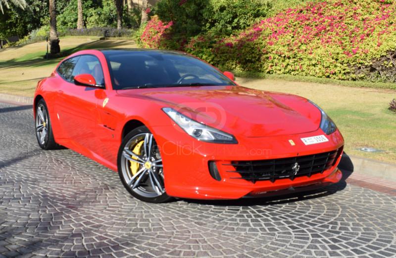 Rent Ferrari GTC4 Lusso V12 in Abu Dhabi - Sports Car Car Rental