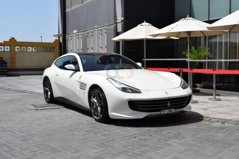Rent Ferrari GTC4 Lusso V12 in Dubai - Sports Car Car Rental