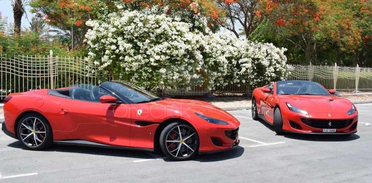 Rent Ferrari Portofino in Sharjah - Sports Car Car Rental