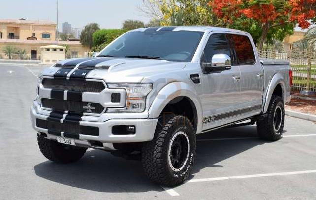 Rent Ford  F150 Shelby 755HP in Sharjah - Pickup Truck Car Rental
