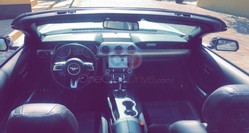 Ford Mustang V6 Convertible 2020 Rental - Dubai